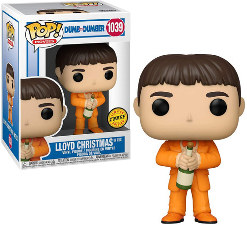 Funko Dumb & Dumber POP! Movies Lloyd In Tux Vinyl Figure [Chase Version with Champagne Bottle] (Pre-Order ships February)