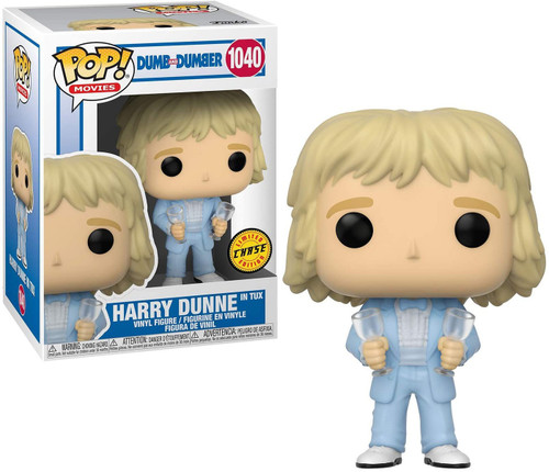 Funko Dumb & Dumber POP! Movies Harry In Tux Vinyl Figure [Chase Version with Champagne Glasses]