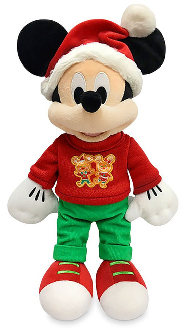 Disney 2020 Holiday Mickey Mouse Exclusive 17-Inch Plush [Green Pants]
