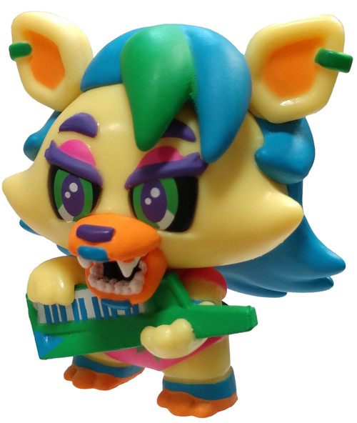 Funko Five Nights at Freddy's Security Breach Roxanne Wolf (Blacklight) 1/24 Mystery Minifigure [Loose]