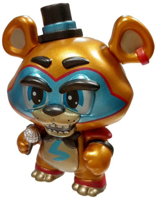 Funko Five Nights at Freddy's Security Breach Glamrock Freddy (Metallic) 1/72 Mystery Minifigure [Loose]