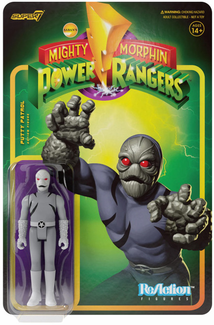 ReAction Mighty Morphin Power Rangers Putty Patroller Action Figure (Pre-Order ships March)