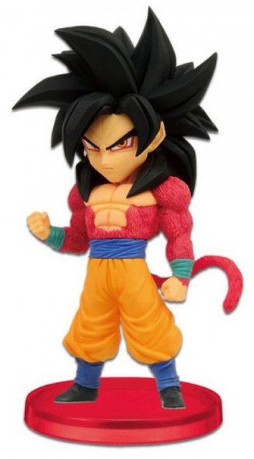 The Dragon Ball GT WCF Dragon Ball GT Super Saiyan 4 Goku 2.5-Inch PVC Figure #004