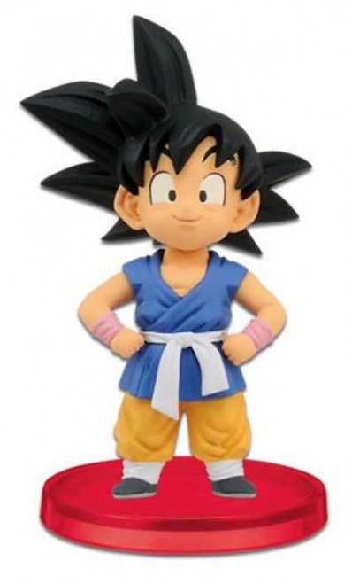 The Dragon Ball GT WCF Dragon Ball GT Kid Goku 2.5-Inch PVC Figure #001