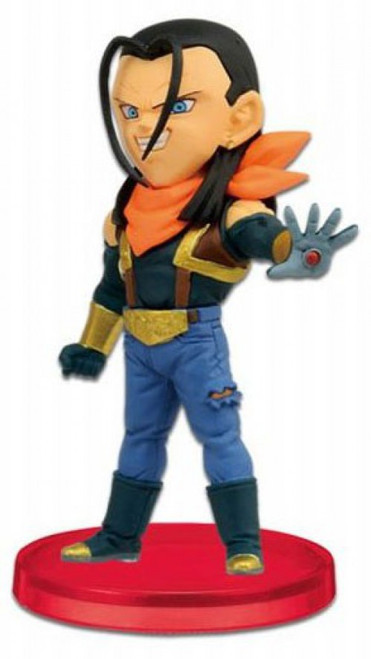 The Dragon Ball GT WCF Dragon Ball GT Super Android 17 2.5-Inch PVC Figure #006