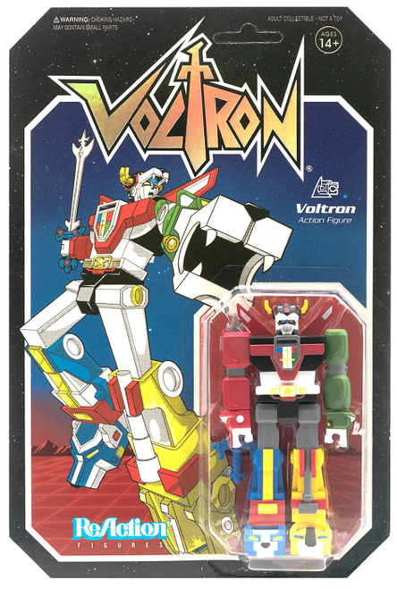 ReAction Voltron Action Figure