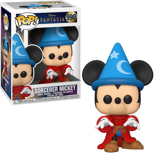 Funko Fantasia 80th Anniversary POP! Disney Sorcerer Mickey Vinyl Figure #990