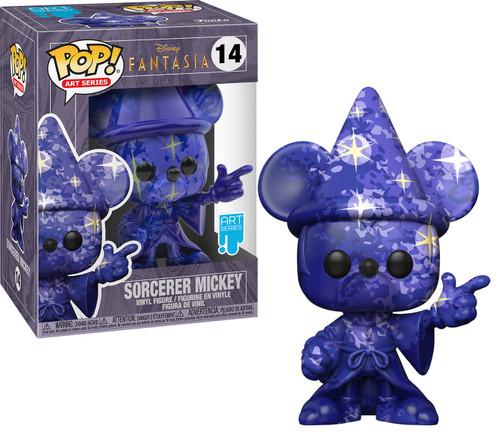 Funko Fantasia 80th Anniversary POP! Disney Sorcerer Mickey Vinyl Figure #14 [Art Series]