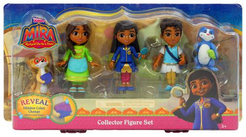Mira, Royal Detective Mira, Priya, Prince Neel, Mikku, and Chikku Exclusive Figure 5-Pack