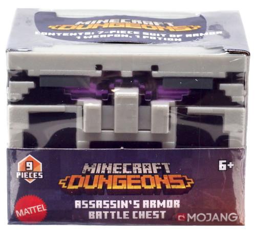 Minecraft Dungeons Assassin's Armor Battle Chest