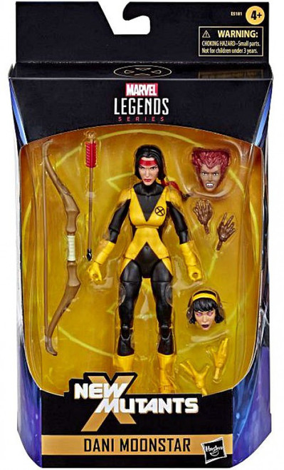 X-Men New Mutants Marvel Legends Dani Moonstar Action Figure [Wolfsbane & Karma Swappable Parts] (Pre-Order ships March)