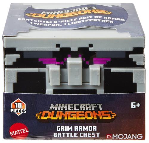 Minecraft Dungeons Grim Armor Battle Chest
