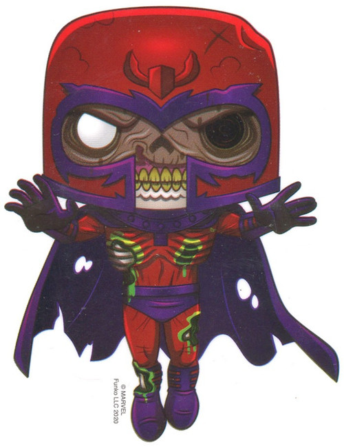 Funko Marvel Zombies Zombie Magneto 3-Inch Sticker