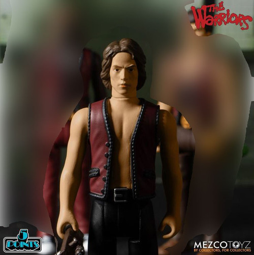 The Warriors 5 Points Swan Action Figure [Loose (No Package)]