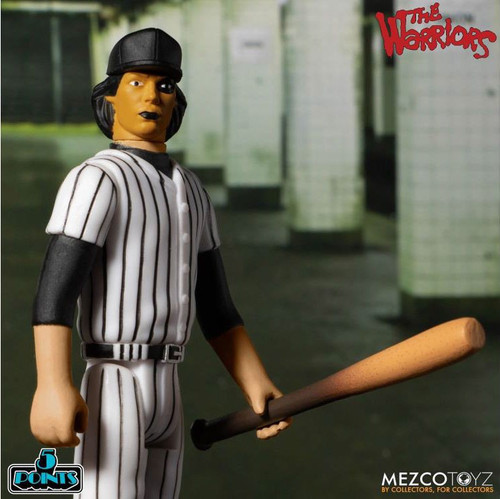 The Warriors 5 Points Baseball Fury Yellow & Black Leader Action Figure [Loose (No Package)] (Pre-Order ships February)