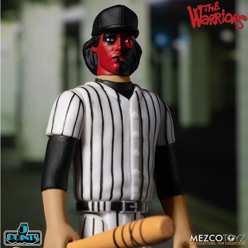 The Warriors 5 Points Baseball Fury Red & Black Lieutenant Action Figure [Loose (No Package)] (Pre-Order ships February)