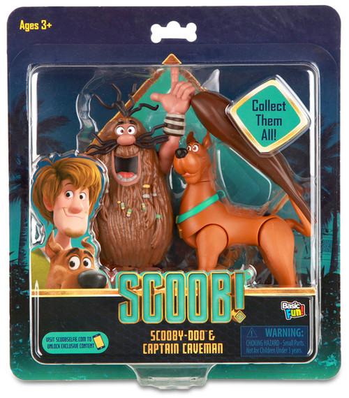 Scooby Doo Scoob! Scooby-Doo & Captain Caveman Exclusive Action Figure 2-Pack