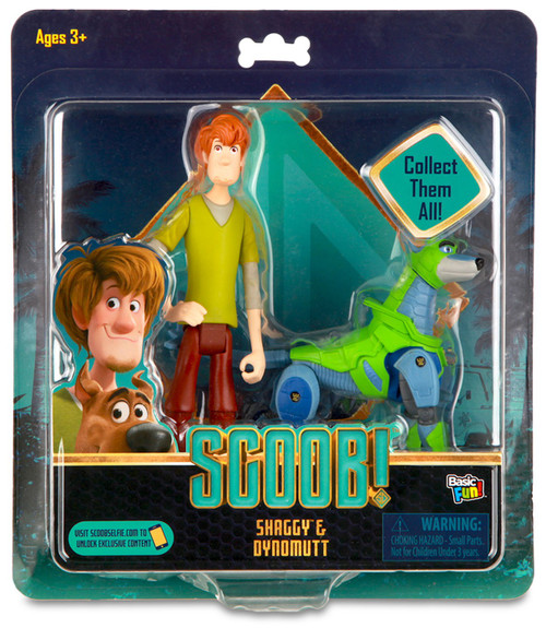 Scooby Doo Scoob! Shaggy & Dynomutt Exclusive Action Figure 2-Pack