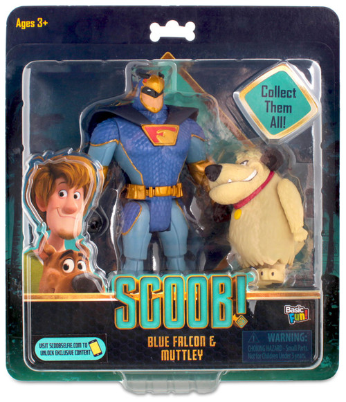 Scooby Doo Scoob! Blue Falcon & Muttley Exclusive Action Figure 2-Pack