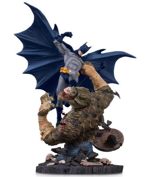 Classic Confrontations Batman vs. Killer Croc 16.5-Inch Statue [Used]