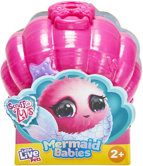 Little Live Pets Scruff A Luvs Mermaid Babies Series 4 Mini Plush Surprise Mystery Pack [1 RANDOM Figure]