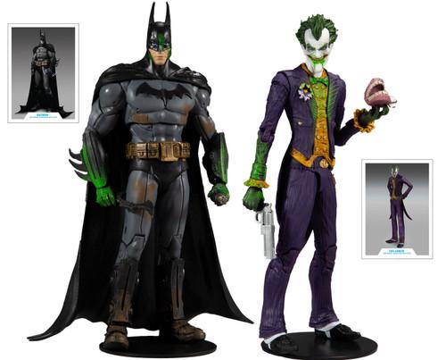 McFarlane Toys DC Multiverse Batman Vs. Joker Exclusive Action Figure 2-Pack [Arkham Asylum]