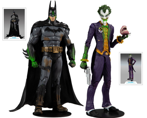 McFarlane Toys DC Multiverse Batman Vs. Joker Exclusive Action Figure 2-Pack [Arkham Asylum] (Pre-Order ships December)