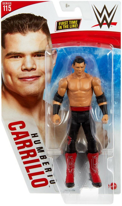 WWE Wrestling Series 115 Humberto Carrillo Action Figure [Red & Black] (Pre-Order ships January)