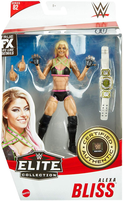 WWE Wrestling Elite Collection Series 82 Alexa Bliss Action Figure (Pre-Order ships January)