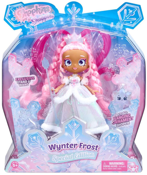 Shopkins Shoppies Wynter Frost Exclusive Doll Figure