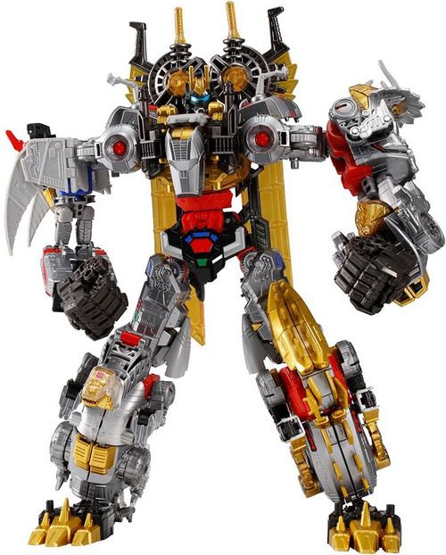 Transformers Generations Selects Volcanicus Exclusive Action Figure TT-GS11 [Grimlock, Snarl, Sludge, Slug & Swoop] (Pre-Order ships April)