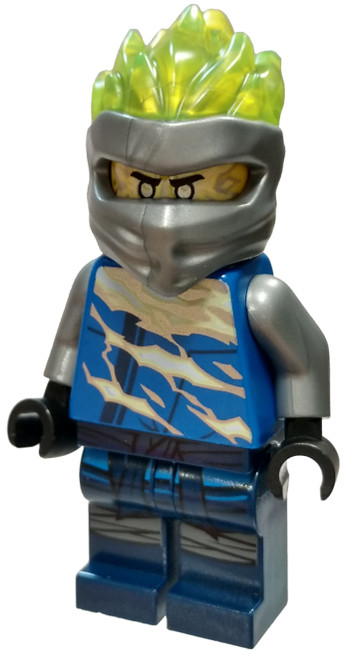 LEGO Ninjago Secrets of the Forbidden Spinjitzu Jay FS (Spinjitzu Slam) Minifigure [Loose]