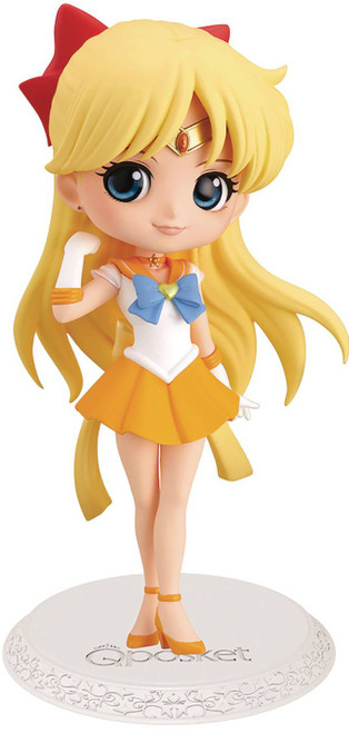 Sailor Moon Q Posket Super Sailor Venus 2.8-Inch Collectible Figure [Version 2] (Pre-Order ships April)