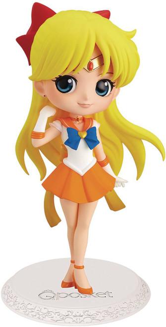 Sailor Moon Q Posket Super Sailor Venus 2.8-Inch Collectible Figure [Version 1] (Pre-Order ships April)