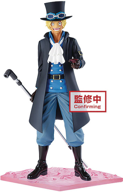 "One Piece Episode ""Luff"" Sabo 7-Inch Collectible PVC Figure (Pre-Order ships April)"