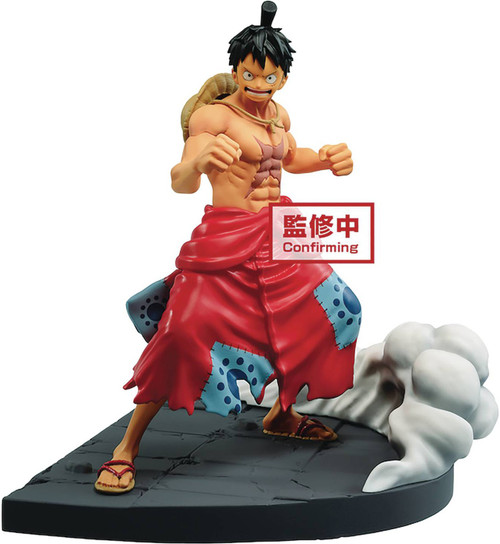 One Piece Log File Selection Monkey D. Luffy 7-Inch Collectible PVC Figure (Pre-Order ships April)