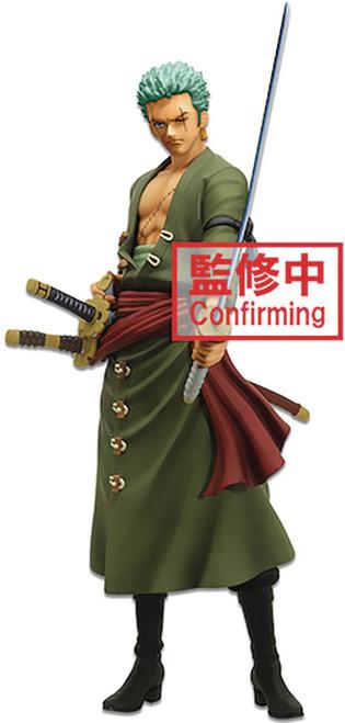 One Piece Grandista Nero Roronoa Zoro 11-Inch Collectible PVC Figure (Pre-Order ships April)
