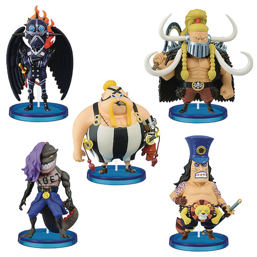 One Piece WCF World Collectable Figure Beasts Pirates 3-Inch Box [12 Packs] (Pre-Order ships February)