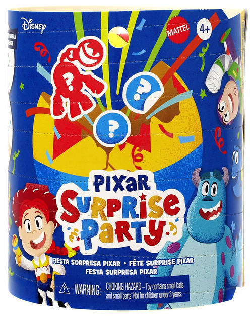 Disney / Pixar Surprise Party 3-Inch Mystery Pack [1 RANDOM Clip-On Figure!]