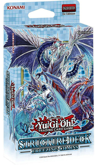 YuGiOh Trading Card Game Freezing Chains Structure Deck