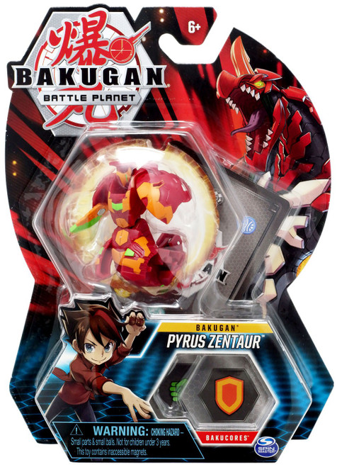 Bakugan Battle Planet Bakugan Pyrus Zentaur