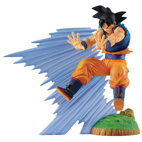 Dragon Ball Z History Box Goku 7.8-Inch Collectible PVC Figure (Pre-Order ships April)