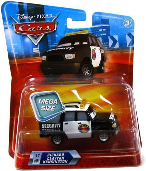 Disney / Pixar Cars Deluxe Oversized Richard Clayton Kensington Diecast Car [Damaged Package]