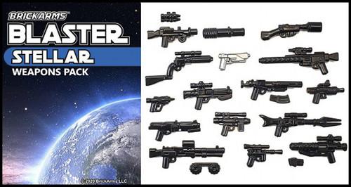 BrickArms Blaster Pack - Stellar Weapons Pack