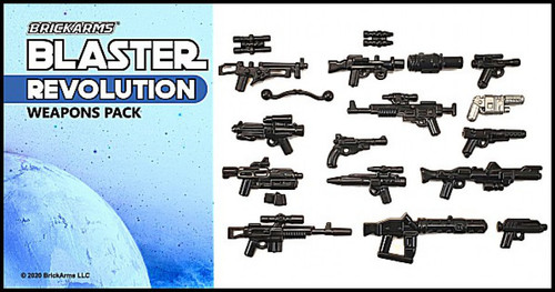 BrickArms Blaster Pack - Revolution Weapons Pack