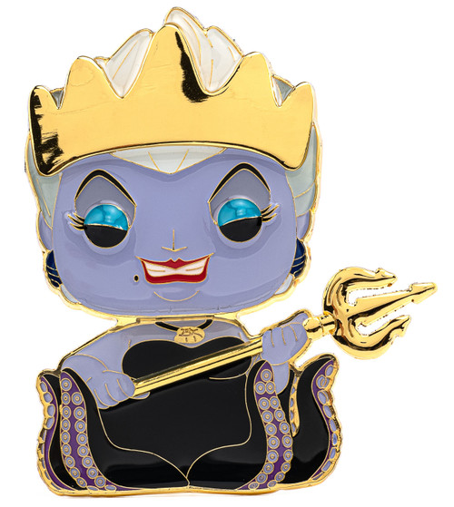 Funko Disney The Little Mermaid POP! Pins Ursula Large Enamel Pin Wave 3