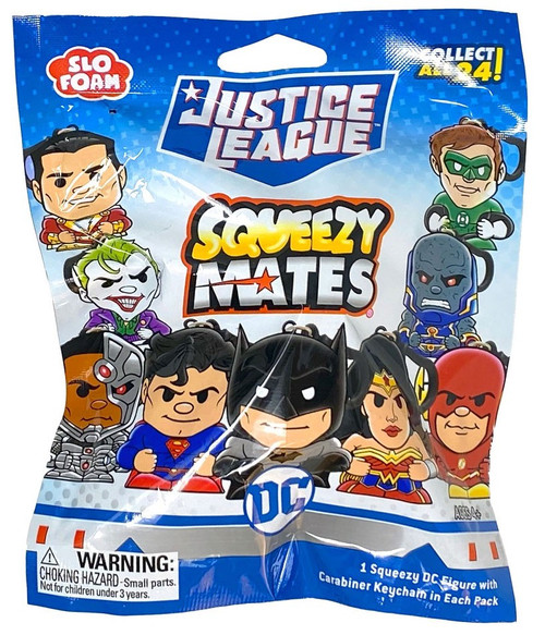 DC Squeezy Mates Justice League Mystery Pack