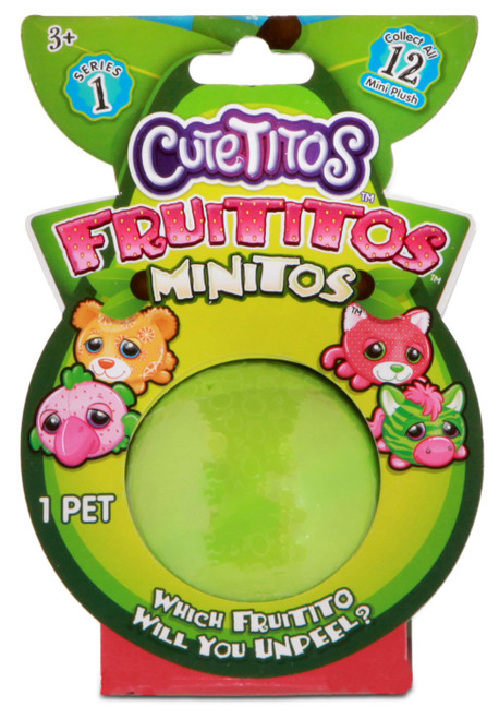 Cutetitos Fruititos Minitos Mystery Pack [RANDOM Color!]