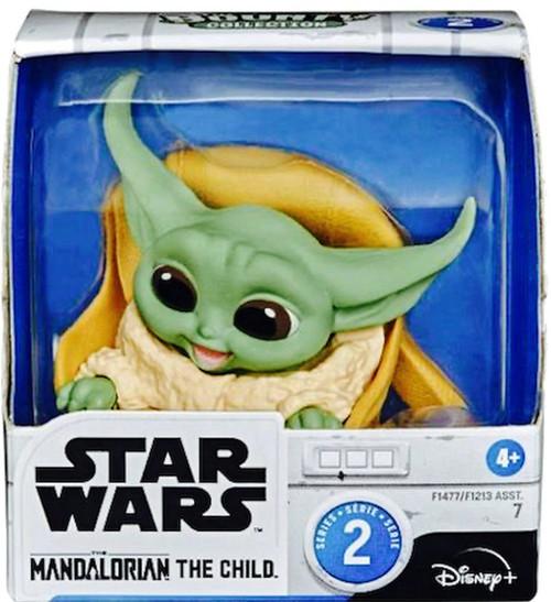 Star Wars The Mandalorian Bounty Collection The Child (Baby Yoda / Grogu) Action Figure #7 [Speeder Ride Along]