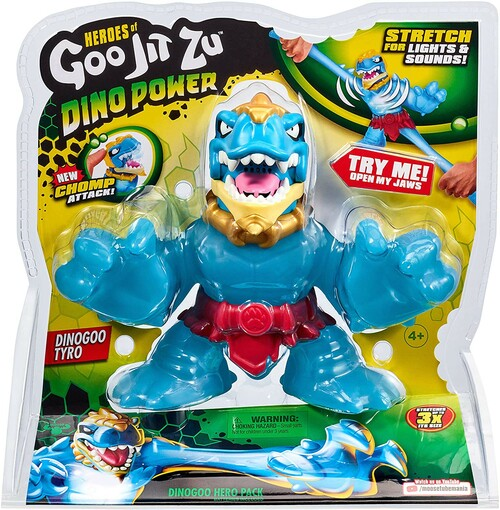 Heroes of Goo Jit Zu Dino Power Dinogoo Tyro Action Figure [Lights & Sounds!]